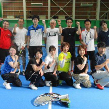 ビギナー交流テニス大会